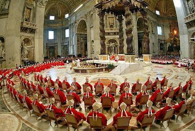 Духовные упражнения для Папы и Римской Курии